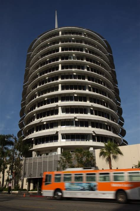 places youll goin la capitol records building