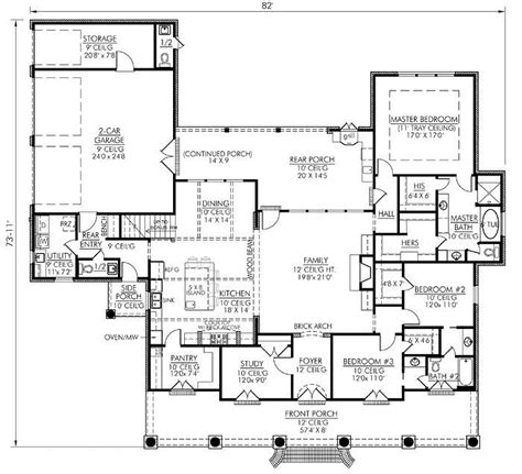 one house plans with large kitchens 155 best plans i images on