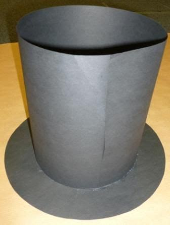 top hat diy mad hatter hat crazy hat