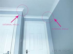 coving crown moulding for dummies life in eight With coving corner template