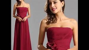robe temoin pour mariage youtube With robe temoin de mariage rouge