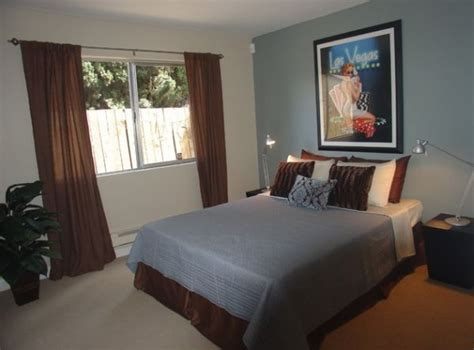 deco chambre marron chambre gris chambre gris bleu peinture chambre bleu gris