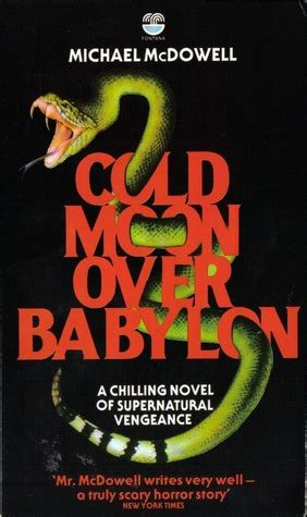 Too Much Horror Fiction Cold Moon Over Babylon By Michael