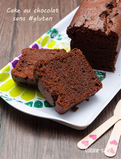 recette cuisine sans four cake au chocolat sans gluten cuisine saine sans