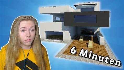 Modernes Haus In Minecraft Pe Bauen by Modernes Haus In Minecraft Bauen Einfach