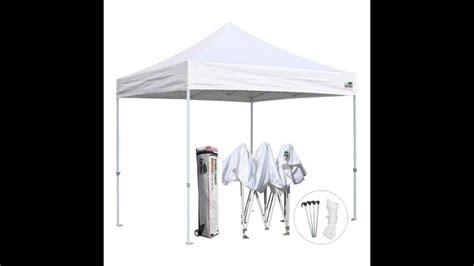 eurmax  outdoor easy pop  canopy youtube