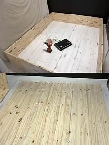 Fond De Lit : le lit escamotable comment le fabriquer soi m me ~ Teatrodelosmanantiales.com Idées de Décoration