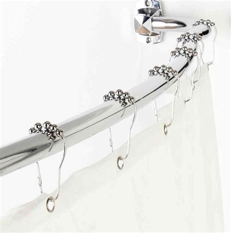 shower curtain rod height curved home design ideas