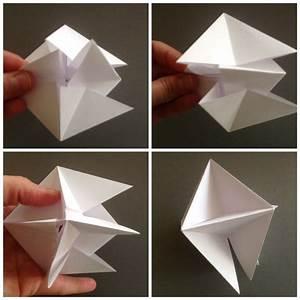 Origami Für Anfänger : diy origami modular spinner origami anleitungen 3d ~ A.2002-acura-tl-radio.info Haus und Dekorationen