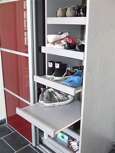 Penderie Sur Mesure : range chaussures penderie meuble sur mesure entreprise ~ Zukunftsfamilie.com Idées de Décoration