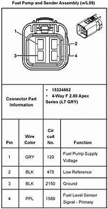 Wiring Diagram  2001 Chevy Tahoe Fuel Pump