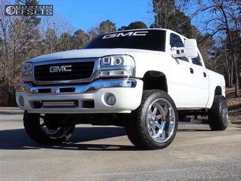 gmc sierra  classic fuel forged ff rough country suspension lift