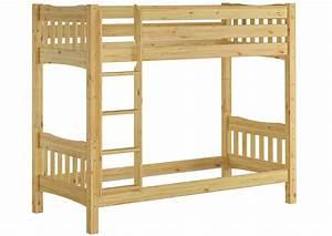 Erst Holz : ni100 or etagenbett kiefer 90x200 cm ohne ~ A.2002-acura-tl-radio.info Haus und Dekorationen