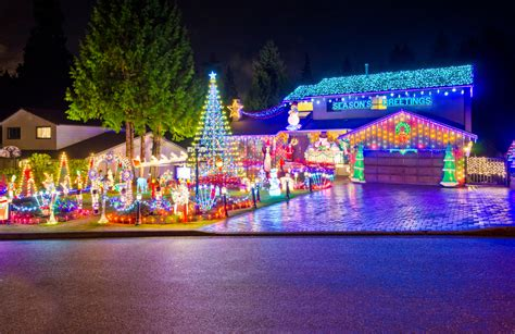 christmas lights neighborhood chickasha neighborhoods with the best lights in los angeles