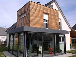 extension de maison en etage abt construction bois With extension maison en hauteur