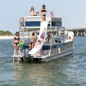 double decker pontoon boat