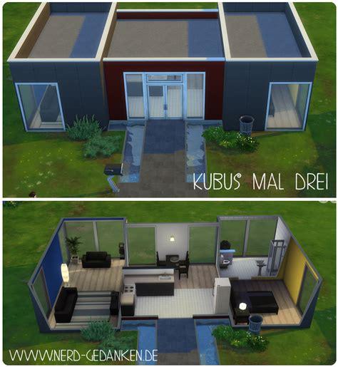 Sims 4 Moderne Häuser by 5 Moderne Starterh 228 User F 252 R Sims 4 Gedanken