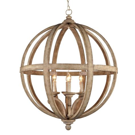 Dining Room Light Fixtures Home Depot by Y Decor Hercules 4 Light Brown Wood Globe Chandelier