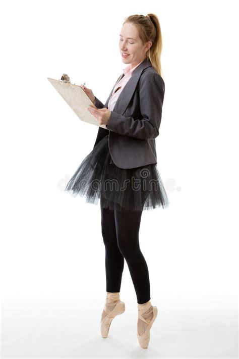 business ballerina  clipboard stock image image
