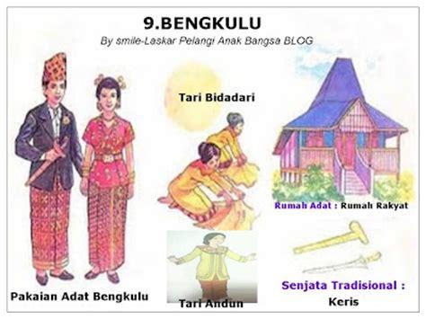 indonesia  provinsi pakaian tarian rumah adat