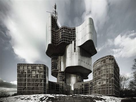 Incredible Photos Of Brutalist Architecture In The Former Yugoslavia From 1948-1980