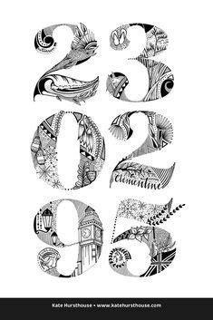 Kia Ora from NZ - Kate Hursthouse Design + Illustration