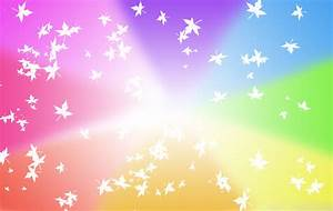 Rainbow Stars Wallpaper HD 25079 - Baltana