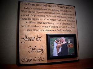 request a custom order and have something made just for you With wedding gift for parents