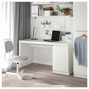 Ikea Schreibtisch Glasplatte : malm schreibtisch wei ikea ~ Watch28wear.com Haus und Dekorationen