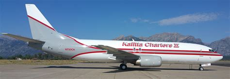 First B737-400 being converted to freighter for Kalitta ...