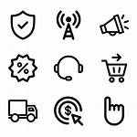 Minimal Icons Dashboard Ecommerce Contacts Signals Election