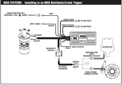 Soleniod Diagram With Msd 6al Wiring Ford by How To Install An Msd 6a Digital Ignition Module On Your