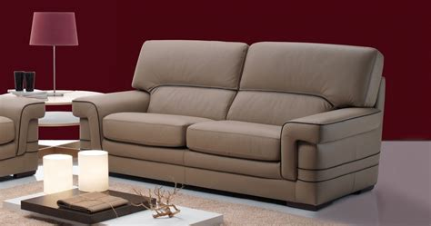 salon moderne encuir ensemble canapés 3 2 en cuir buffle