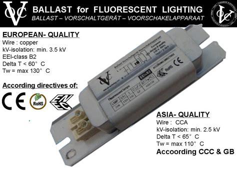 Fluorescent Lighting Fluorescent Light Ballast Provides