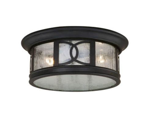 Menards Outdoor Ceiling Lights by Sterling 2 Light 12 Quot Forged Bronze Outdoor Ceiling Light