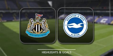 Newcastle United vs Brighton & Hove Albion - Highlights ...