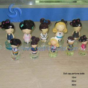 china doll cap perfume bottle china empty perfume bottle