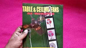 Table Fan And Ceiling Fan Winding Data