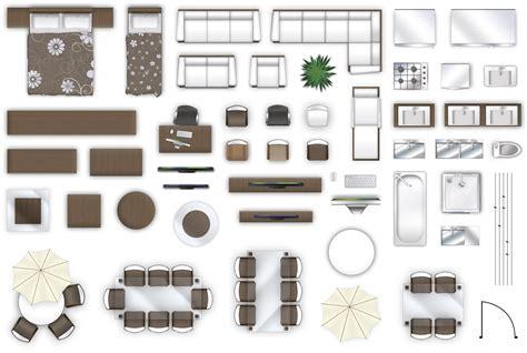 Furniture Floorplan View Style   Cgtrader