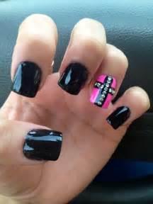 Black Cross Nails