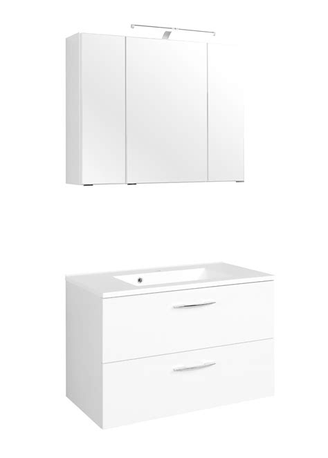 Badmöbel Set Waschtisch 80 Cm by Badm 246 Bel Set Portofino Mit Waschtisch 4 Teilig 80 Cm