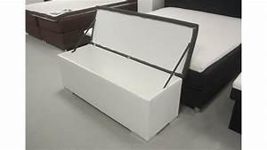 Sitzbank truhe chest schlafzimmer in wei und anthrazit for Sitzbank truhe weiß