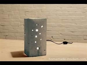 Lampe Dimmbar Machen : beton deko selber machen designerlampe selber machen lampe selber bauen youtube ~ Markanthonyermac.com Haus und Dekorationen