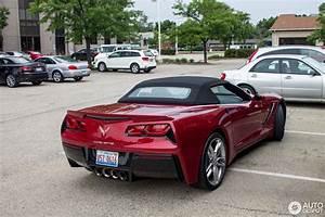 Corvette C7 Cabriolet : chevrolet corvette c7 stingray convertible 30 july 2014 autogespot ~ Medecine-chirurgie-esthetiques.com Avis de Voitures