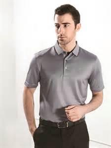 Silk Polo Dress Shirts for Men