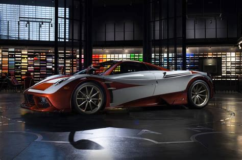 pagani huayra lampo revealed inspired  classic