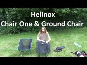 helinox chair one ground chair review