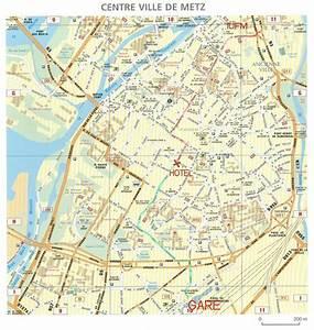 Plan De Metz : plan de metz voyages cartes ~ Farleysfitness.com Idées de Décoration