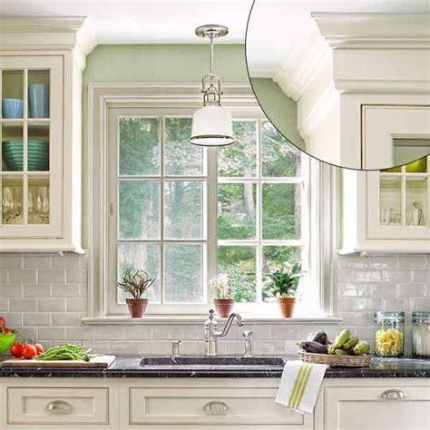 trim around kitchen cabinets 39 crown molding design ideas