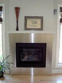 stainless steel fireplace surround Stainless Steel trim for fireplace by Ridalco ...